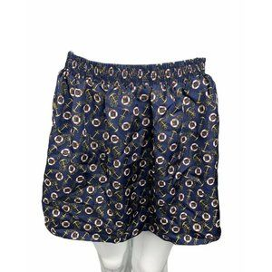 Lux Anthropologie Womens S Skirt Nautical Printed